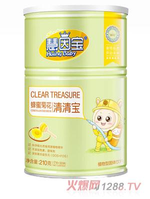 慧因宝蜂蜜菊花罐装清清宝