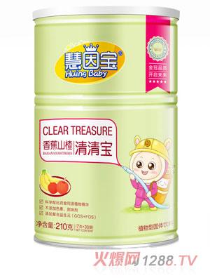 慧因宝香蕉山楂罐装清清宝