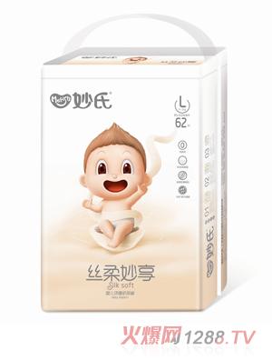 妙氏丝柔妙享纸尿裤大包L