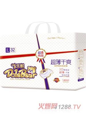 哆乐熊会呼吸纸尿裤XL32