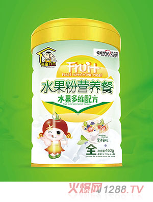 英皇贝贝水果粉营养餐水果多维配方