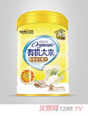 英皇贝贝有机米粉营养餐核桃莲子配方