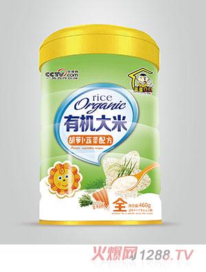 英皇贝贝有机米粉营养餐胡萝卜蔬菜配方