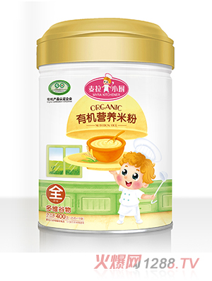 麦拉小厨-有机米粉罐装-多维谷物