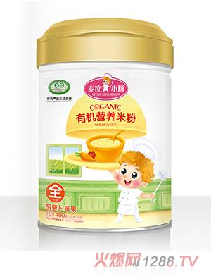 麦拉小厨-有机米粉罐装-苹果胡萝卜