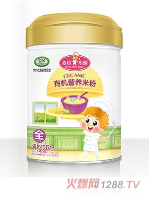 麦拉小厨-有机米粉罐装-强化钙铁锌