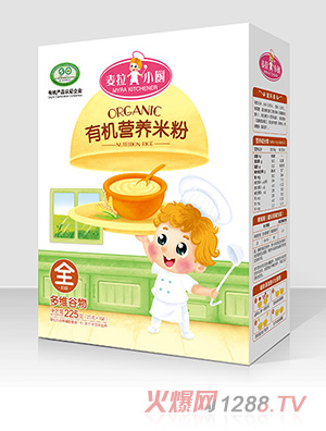 麦拉小厨-有机米粉盒装-多维谷物