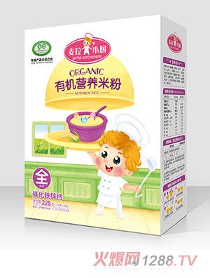 麦拉小厨-有机米粉盒装-强化钙铁锌
