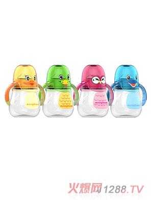 盟宝卡通动物系列奶瓶