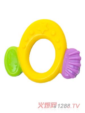 盟宝牙胶椭圆彩色