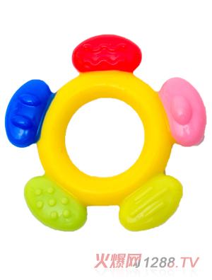 盟宝牙胶圆形五色