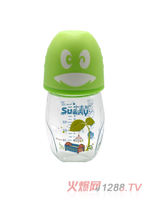 小太阳可爱企业玻璃奶瓶160ml