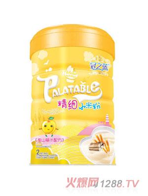 冠之蓝淮山薏米精细小米粉2段