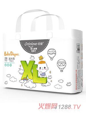 初爱婴儿超薄纸尿片XL28片