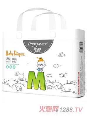 初爱婴儿超薄纸尿片M36片