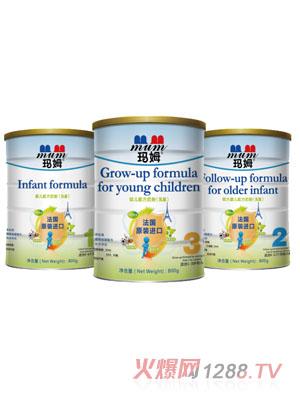 玛姆800克法国原装进口牛奶粉