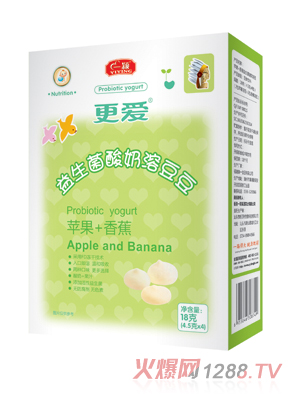 一颖-溶豆豆-苹果+香蕉