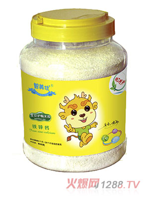 智美优宝贝护畅铁锌钙米粉
