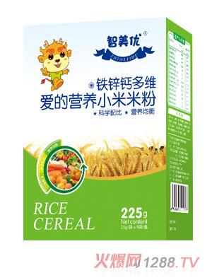 智美优铁锌钙多维爱的营养小米米粉