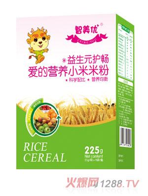 智美优益生元护畅爱的营养小米米粉