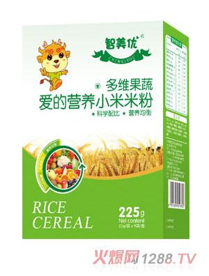 智美优多维果蔬爱的营养小米米粉