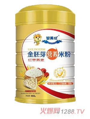 智美优金胚芽红枣燕麦营养米粉