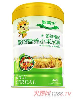 智美优爱的营养多维果蔬小米米粉