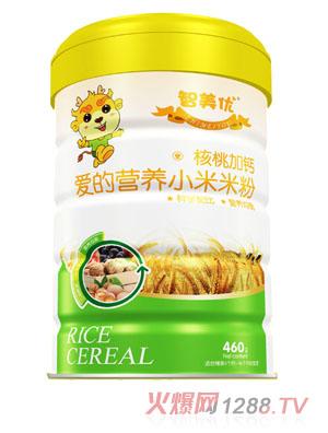 智美优爱的营养核桃加钙小米米粉