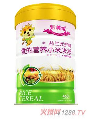 智美优爱的营养益生元护畅小米米粉