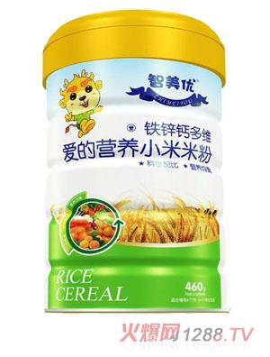 智美优爱的营养铁锌钙多维小米米粉