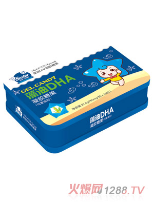 小萌星藻油DHA凝胶糖果(可爱鱼形)