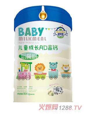 诺贝塔儿童成长AD高钙奶餐粉