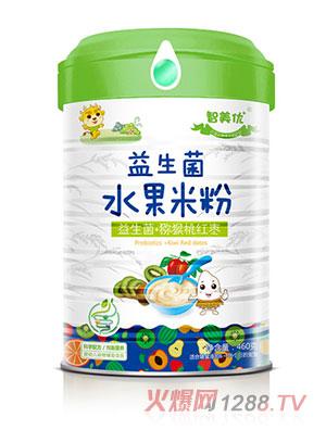 智美优益生菌+猕猴桃红枣水果米粉