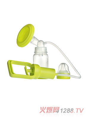 馨菲宝贝吸奶器绿色