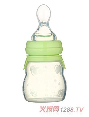 馨菲宝贝硅胶勺奶瓶