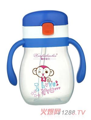 馨菲宝贝婴儿奶瓶小猴蓝色