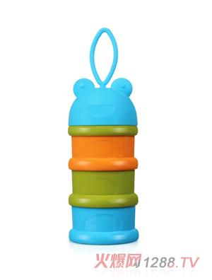 盟宝青蛙奶粉盒