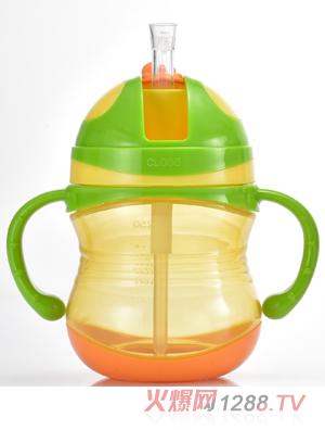 盟宝绿色有刻度水壶