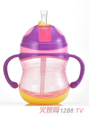 盟宝紫色有刻度水壶