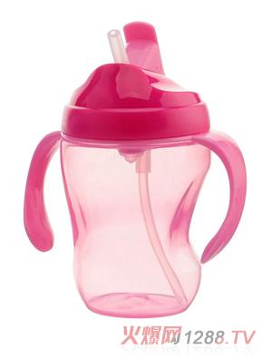盟宝无刻度水壶粉色