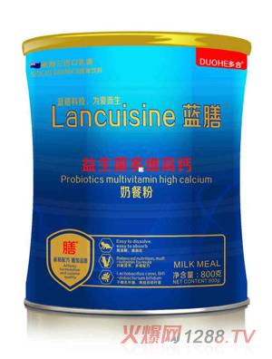 多合蓝膳奶餐粉-益生菌多维高钙