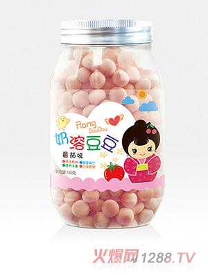 鲁贝比奶溶豆豆番茄味