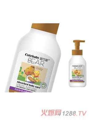 婴可爱乳木果婴儿洗发沐浴露