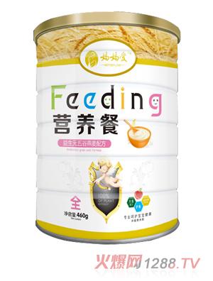 妈妈爱营养餐-益生元五谷燕麦配方