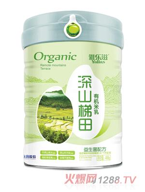 雅乐滋深山梯田有机米乳-益生菌配方