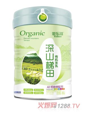 雅乐滋深山梯田有机米乳-AD钙铁锌配方
