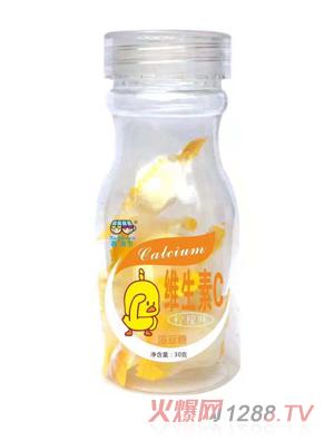 鑫强生维生素C溶豆糖-柠檬味