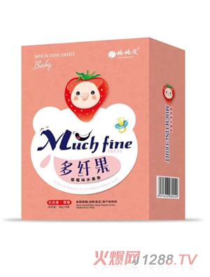 妈妈爱多纤果草莓味水果条