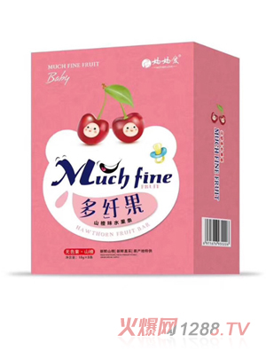 妈妈爱多纤果山楂味水果条