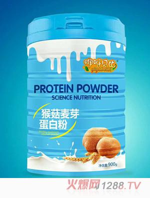 咿呀贝比猴菇麦芽蛋白粉高盖